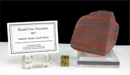 Authentic Banded Iron Kalahari Large