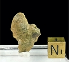 Black Trinitite with Minor Red for Sale - New!