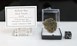 Authentic Black Trinitite NEW