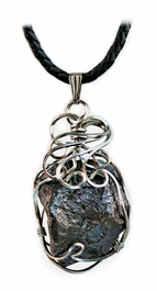 Canyon Diablo Meteorite Jewelry Pendant Necklace