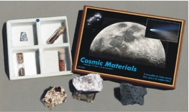 Cosmic Materials Study Set with  Lunar and Mars Soil Simulant