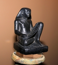 Egyptian Scribe Statue Reproduction