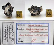 Authentic Exogenic Fulgurite for Sale XL