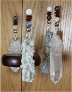 """Force of Nature"" Lightning Sand Wind Chime, Large"
