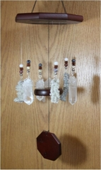 """""""Force of Nature"""" Lightning Sand Wind Chime, Large"""