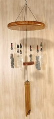 """Force of Nature"" Lightning Sand Wind Chime, Large - NEW"