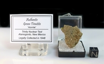 Green Trinitite Atomic Glass for Sale NEW