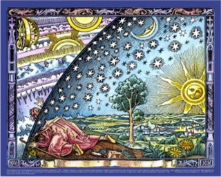 Infinity Camille Flammarion Universe Poster