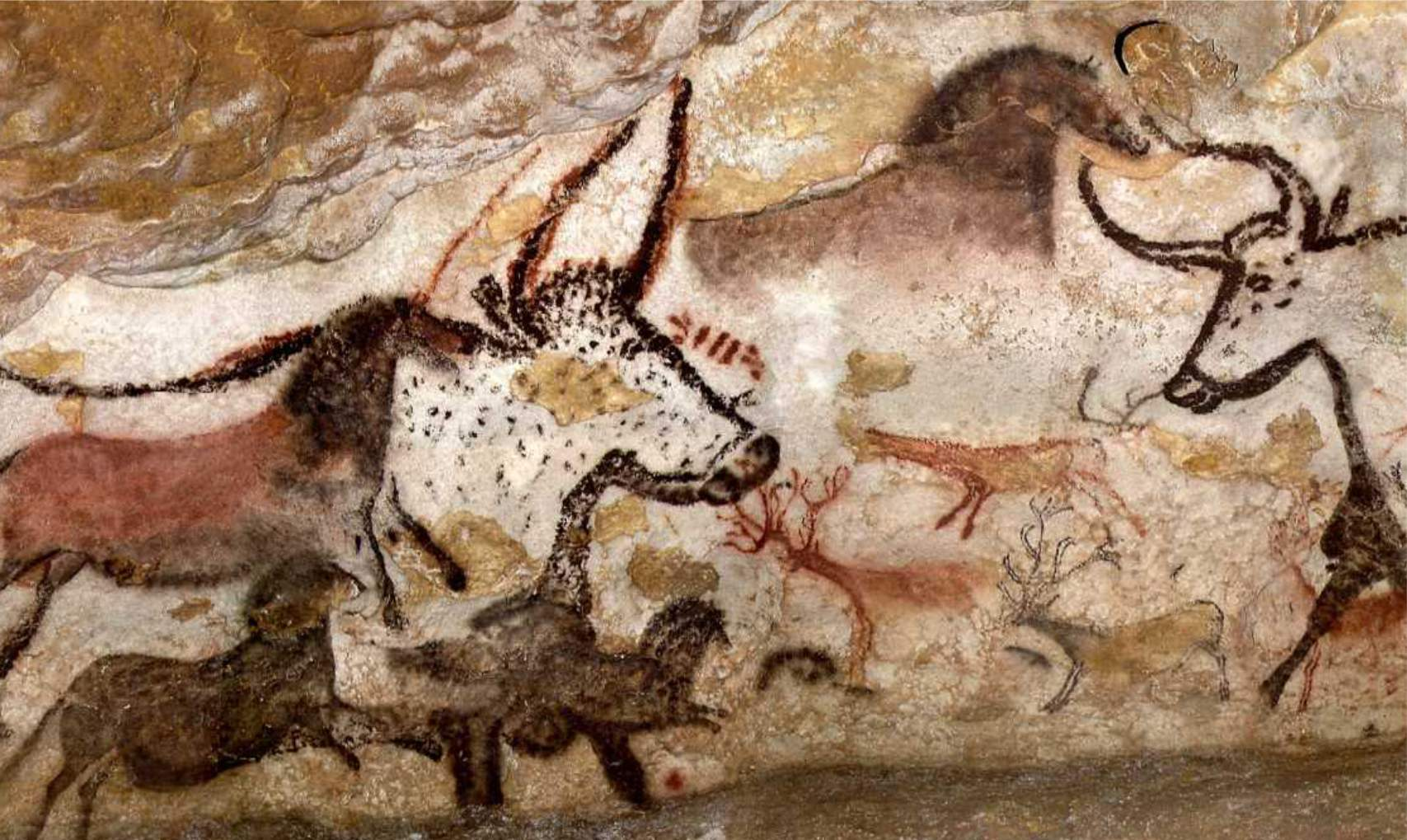 an analysis of the art the cave in lascaux Start studying art history exam 1 learn frequently used for the lascaux cave paintings analysis suggests that the earliest paintings at chauvet.