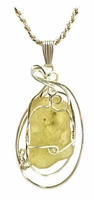 Authentic Libyan Desert Glass Jewelry Sterling Silver