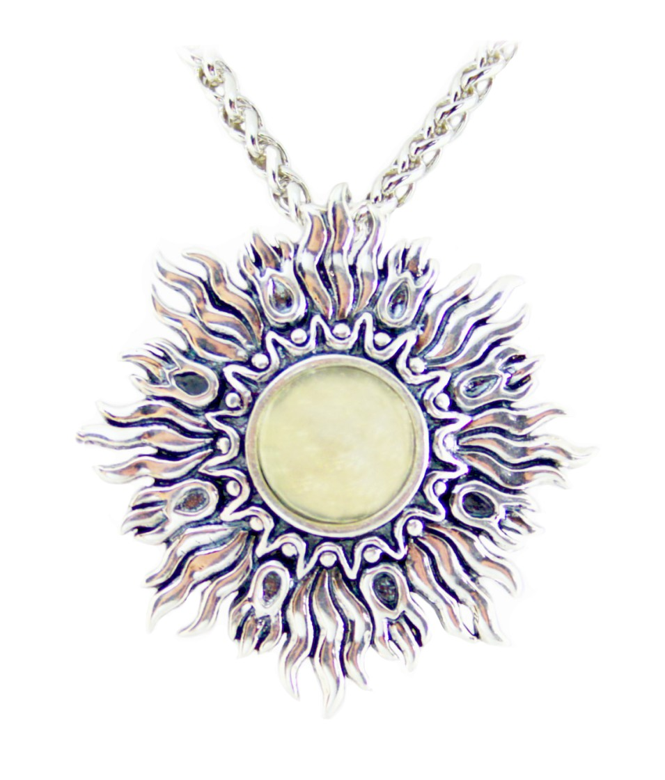 shop becker diamond sunburst shelly designs yellow necklace