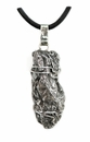 Meteorite Jewelry Pendant Necklace Stainless Steel for Men Campo del Cielo