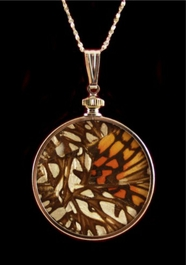 """Authentic """"Mosiac"""" Butterfly Wing Jewelry"""