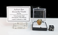 Authentic Red Green Black Trinitite SOLD