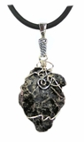 Large Sikhote-Alin Meteorite Jewelry Necklace