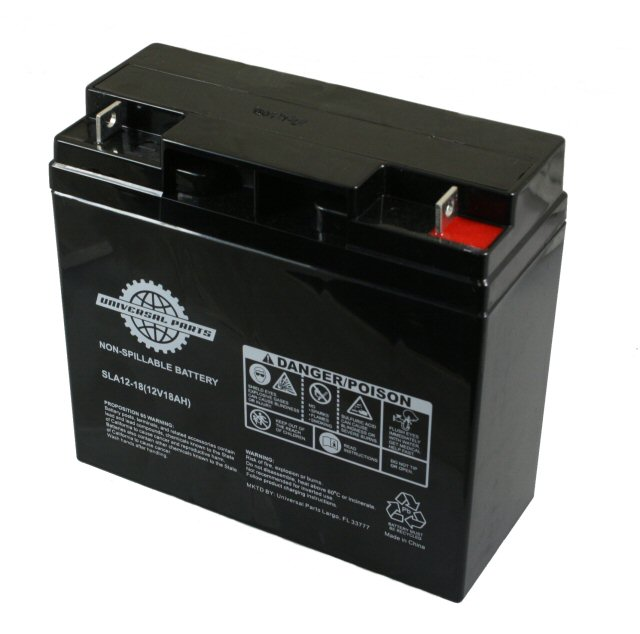 12volt 18ah sla scooter battery. Black Bedroom Furniture Sets. Home Design Ideas