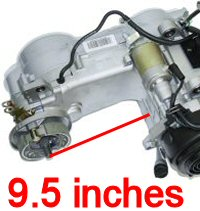 All 150cc ScootersAll 150cc Vehicles with GY-6 Engines VARIATOR FAN Torque Conve