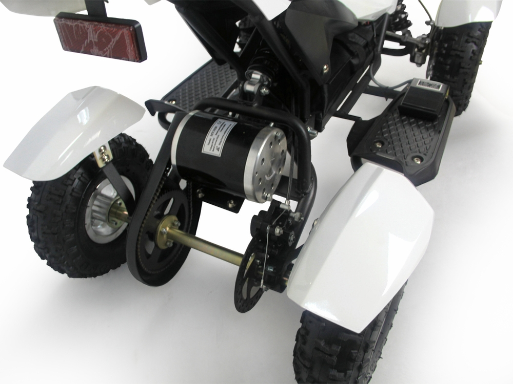 350 watt electric atv motor 3 kids electric atv quad gobi battery power 24v 350watt motor w reverse  at bakdesigns.co