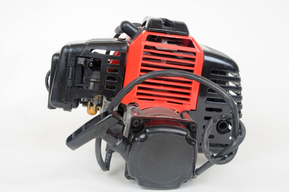 49cc 2-stroke Gas Scooter Engine With Electric Starter on