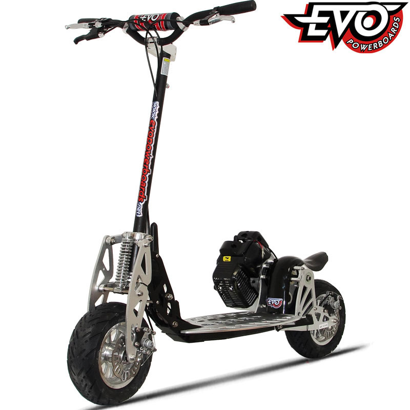 50cc Uberscoot Rx Gas Powered Scooter By Evo Powerboards