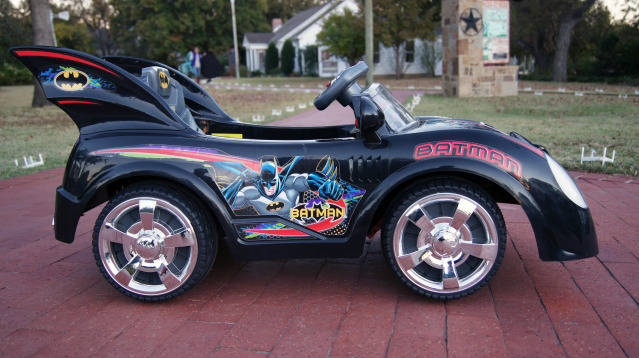 batman batmobile kids ride on car with remote control