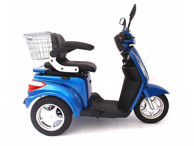 3 Wheel Electric Mobility Scooter 700 Watt Motor 48 Volt