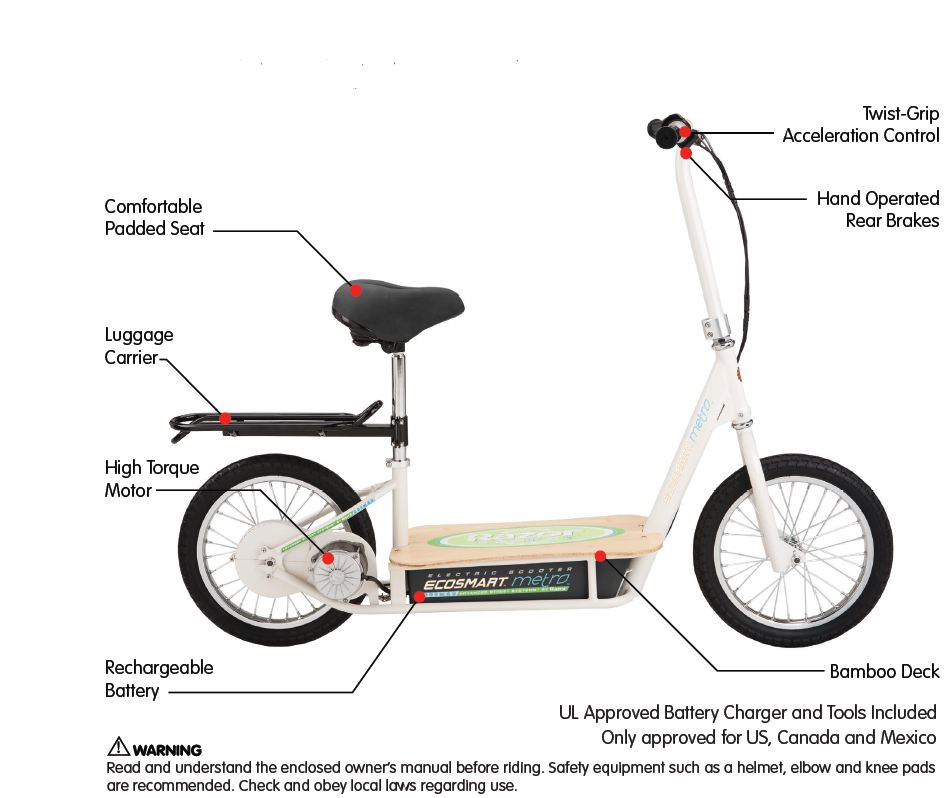 razor e300 electric scooter manual