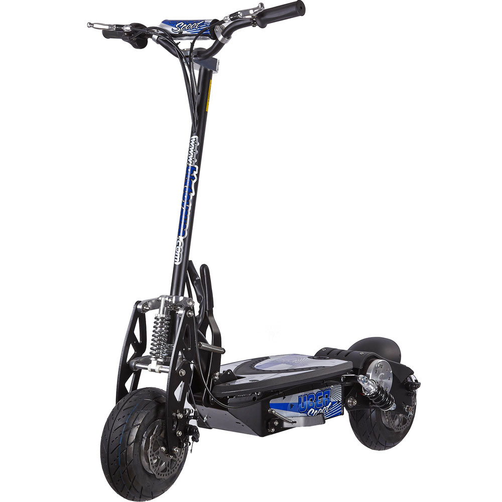 uberscoot 500 watt 36 volt electric powered scooter by evo. Black Bedroom Furniture Sets. Home Design Ideas