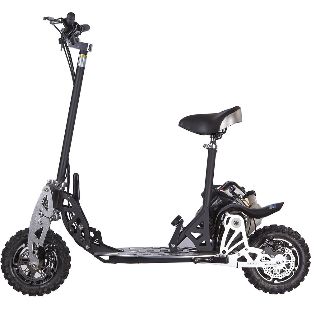 UberScoot-2x Evo 50cc Gas Powered Scooter, EPA Approved 2 Speed Engine