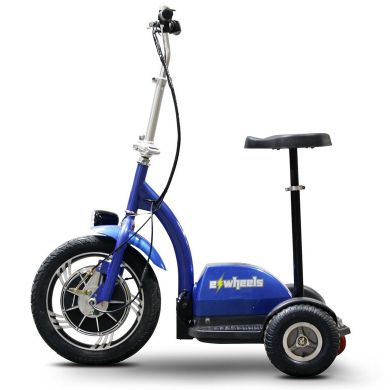Ew 18 stand n ride 3 wheel electric utility mobility for Stand on scooters with motor