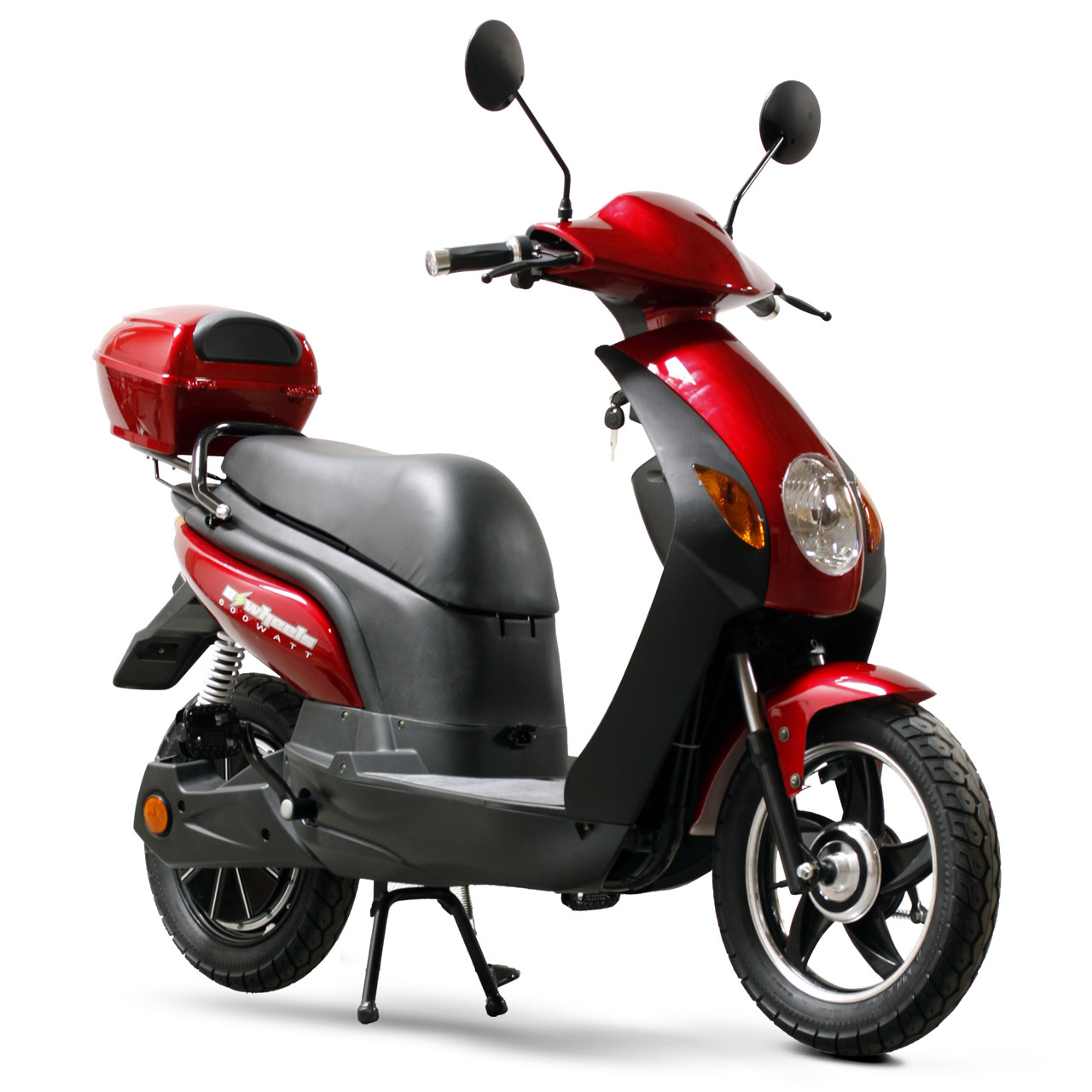 600 Watt 48v Electric Assisted Bike Moped Scooter Model Ew 600