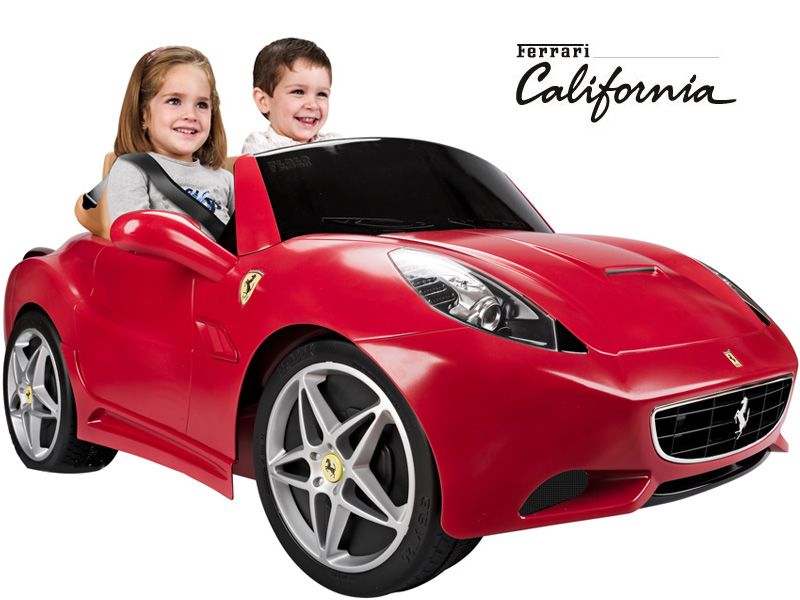 feber ferrari california 12v kids ride on car