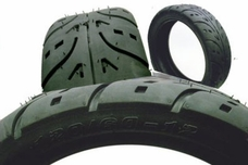 front and rear tires 4 replacement parts for electric scooters, gas scooters, atv parts  at virtualis.co