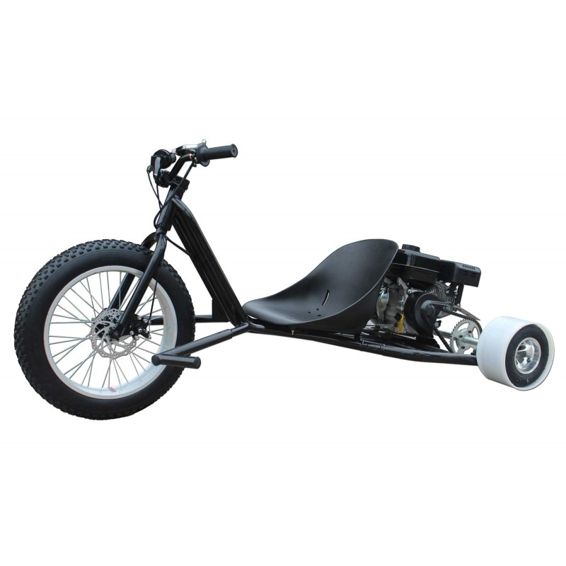 Gas Powered Drift Trike with 6 5 HP Engine by ScooterX