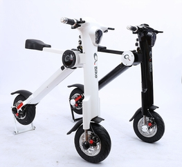 Electric Scooter Two Wheel Q Bike - One of a Kind Best Price in the