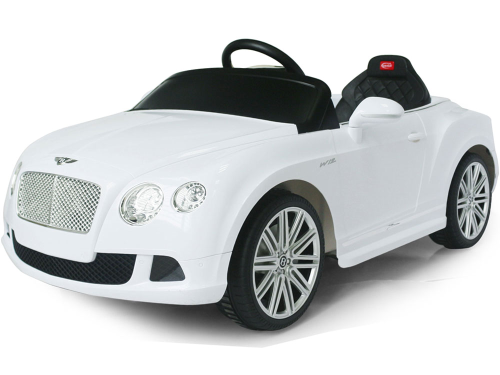 a638c22bf Rastar Bentley GTC 12 Volt White (Remote Controlled)