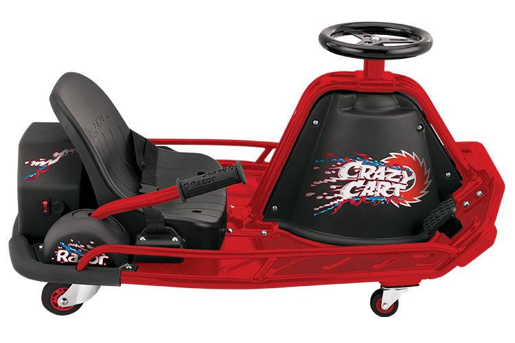 razor electric drifter crazy cart the ultimate drifting machine