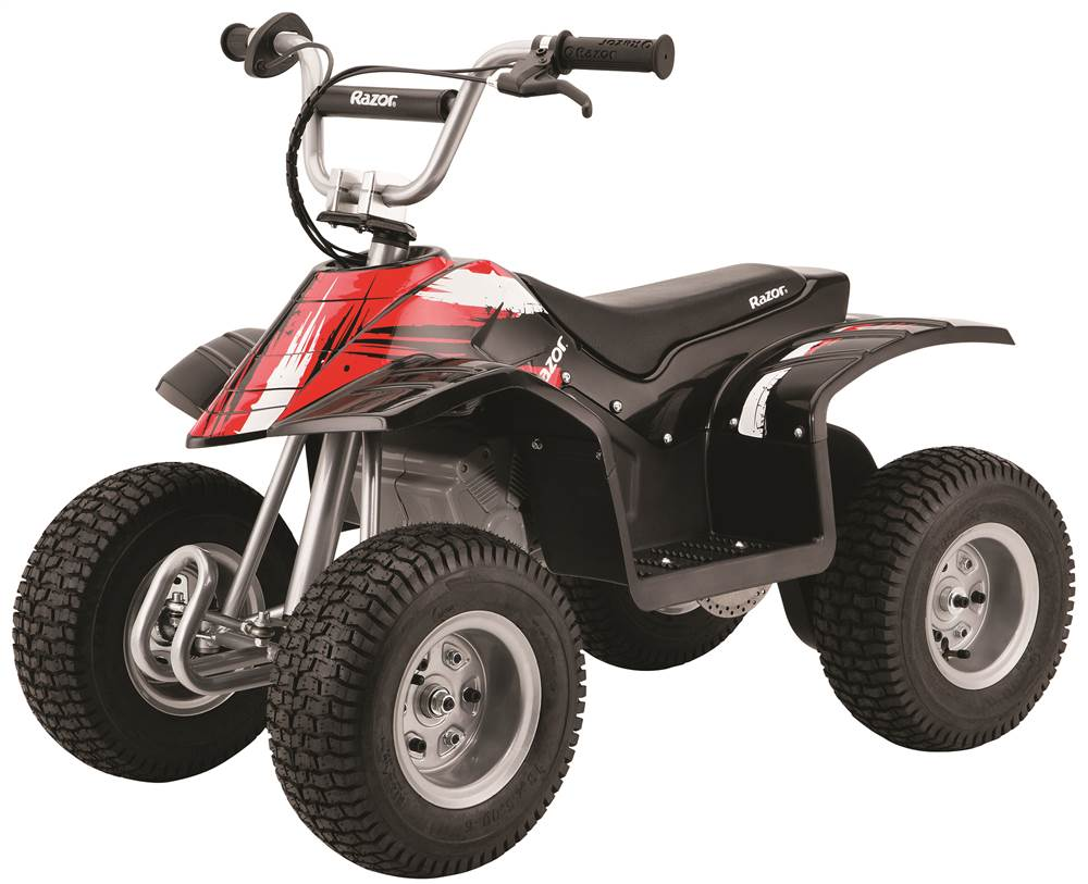 Razor Kids Electric Dirt Quad 350 Watt Atv Mini Off Road 4 Wheeler Eton Viper Jr 40cc Ignition Wiring Diagram Watts