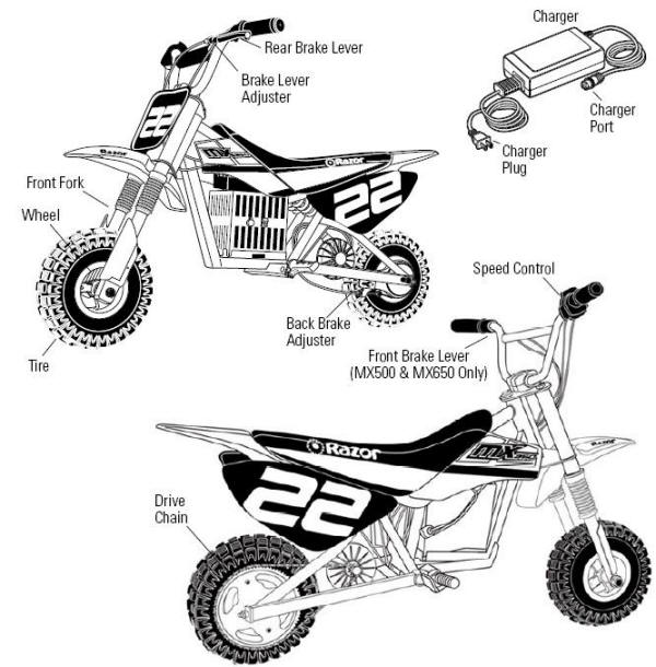 razor 2014 mx350 dirt rocket