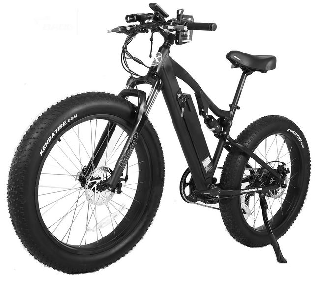 500 Watt 48 Volt High Power Long Range Electric Bicycle