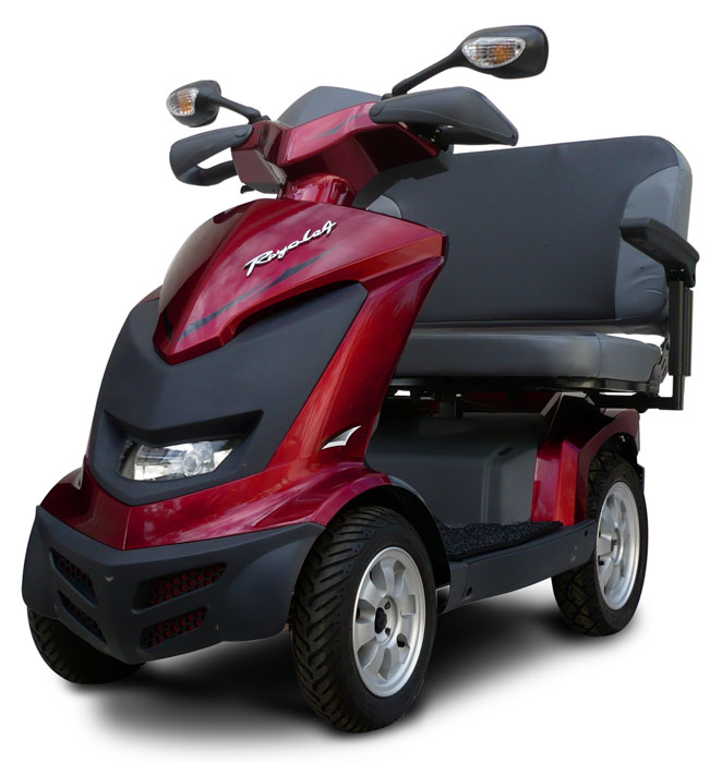 Ev Rider Royale 4 Dual Seat 4 Wheel Electric Mobility