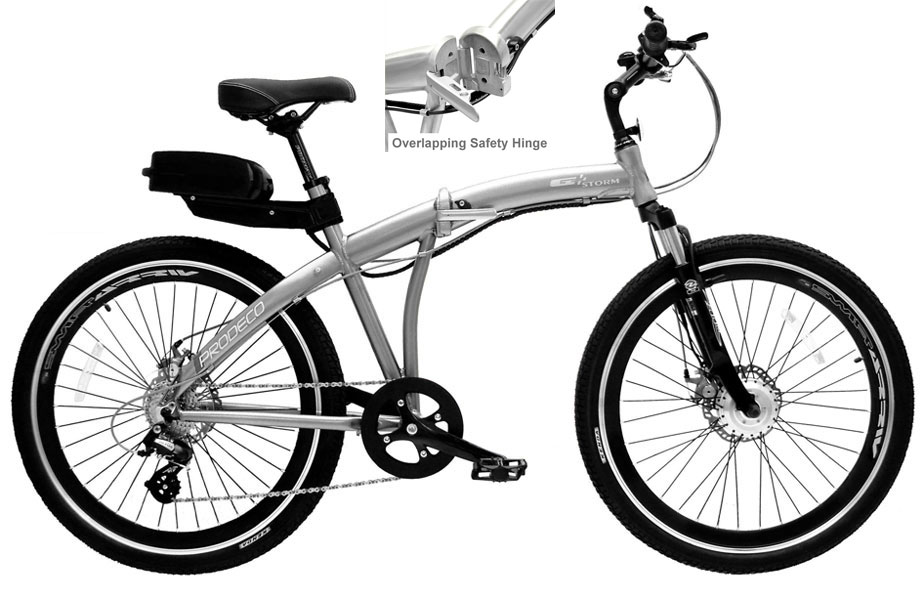storm 300 plus 300 watt 7 speed folding electric bike