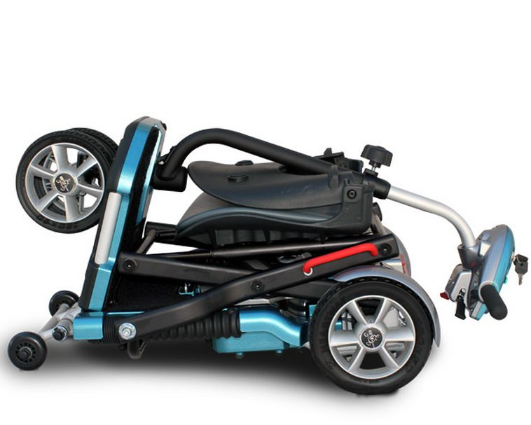 TranSport Folding Travel Electric Mobility Scooter by EV-Rider