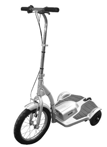Trx Electric Scooter 500 Watt 36 Volt 3 Wheel Upright Personal