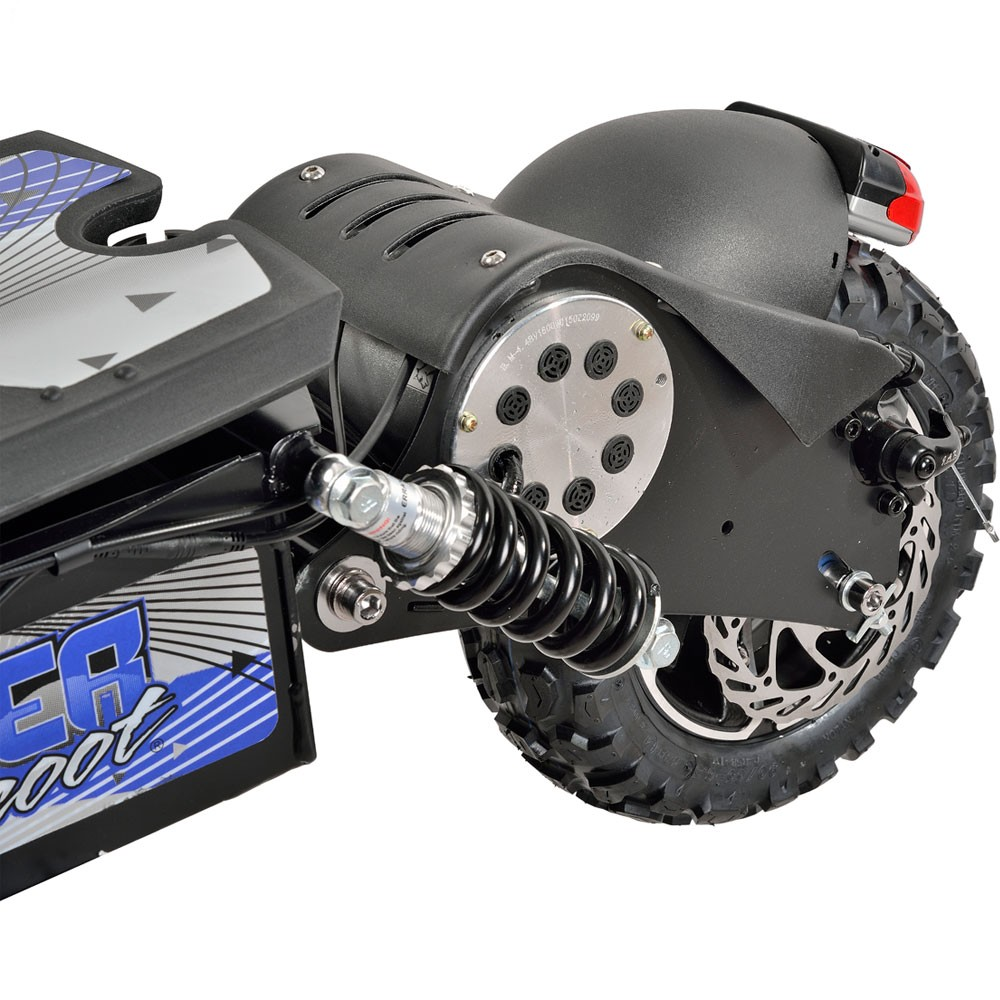 UberScoot 1600 Watt 48 Volt Electric Scooter by Evo Powerboards on