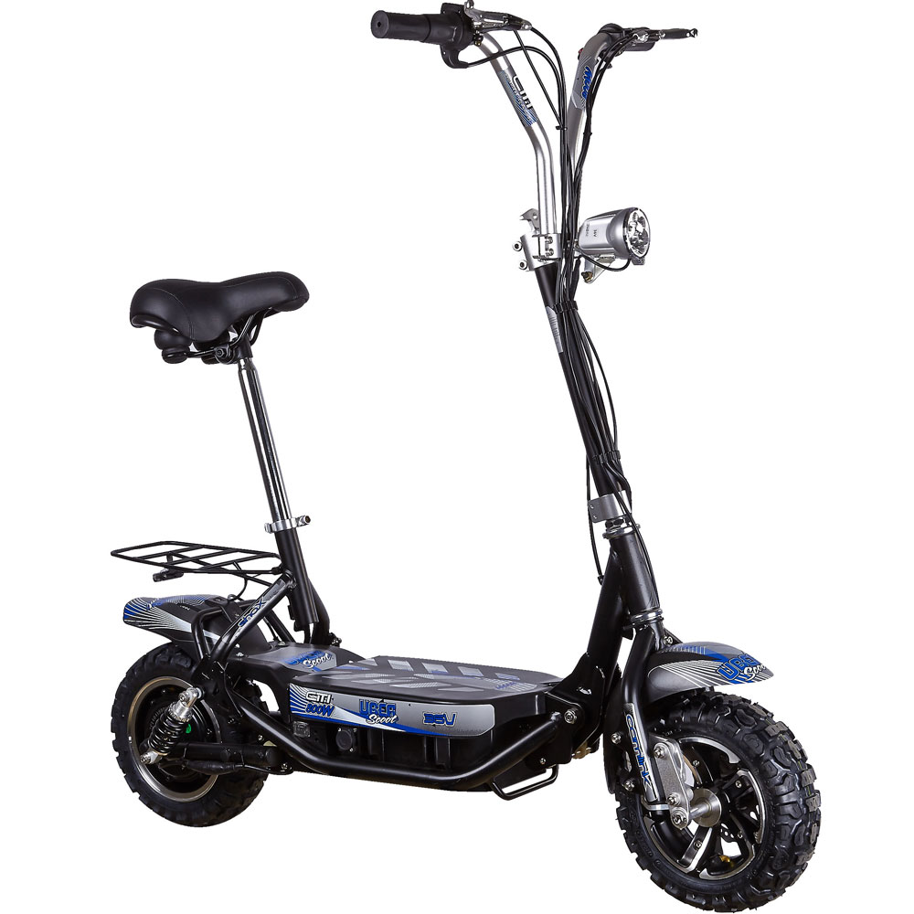 uberscoot citi 800 watt 36 volt folbable electric scooter