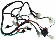wire harness 11 replacement parts for electric scooters, gas scooters, atv parts 50Cc 4 Wheeler Wiring Diagram at aneh.co