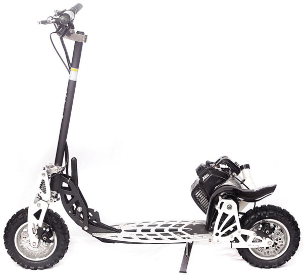 50cc 2 speed high performance gas scooter signature series xg