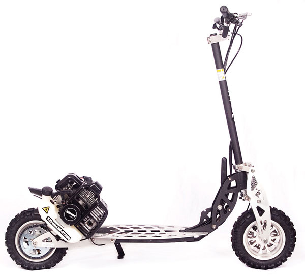 50cc 2 speed high performance gas scooter signature series