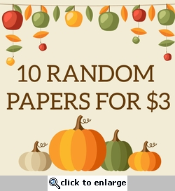 10 SYT Random Papers for $3
